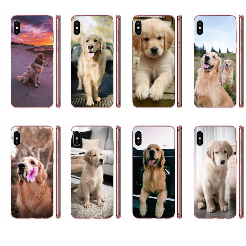 Golden Retriever Soft Bags <font><b>Cases</b></font> For <font><b>Samsung</b></font> Galaxy Note 5 8 9 S3 S4 <font><b>S5</b></font> S6 S7 S8 S9 S10 5G <font><b>mini</b></font> Edge Plus Lite image