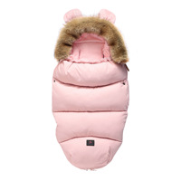 Baby Cocoon Baby Sleeping Bag For Stroller Baby Carriage Sack Pram Warm Winter Changing Diaper Envelope For Newborn