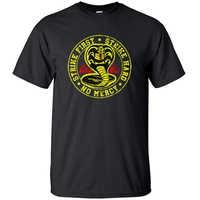 Camiseta de manga corta de algodón para hombre