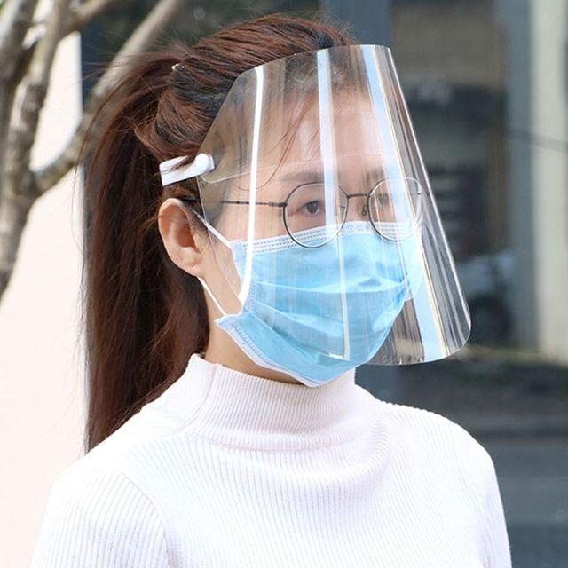 Protective Adjustable Anti-saliva Dust-proof Full Face Cover Mask Visor Shield
