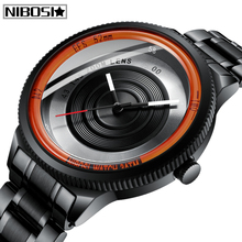 NIBOSI Relogio Masculino 2019 New Sport Mens Watches Special Design Top Brand Luxury Quartz Watch Unique Waterproof Men
