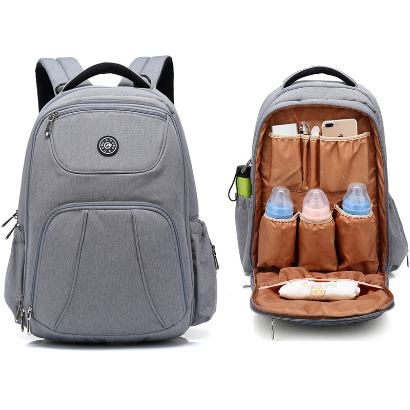 2019 Waterproof Diaper Bag For Maternal Mommy Nappy Backpack Baby Infant Organizer Mom Mother Pram Bag To Care Changing Nursing