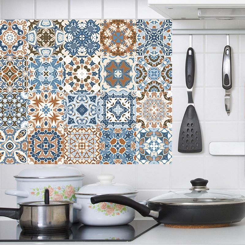 Retro-Mosaic-wall-sticker-bathroom-tile-Waist-Line-Wall-Sticker-Kitchen-Adhesive-Toilet-Waterproof-PVC-Vinyl