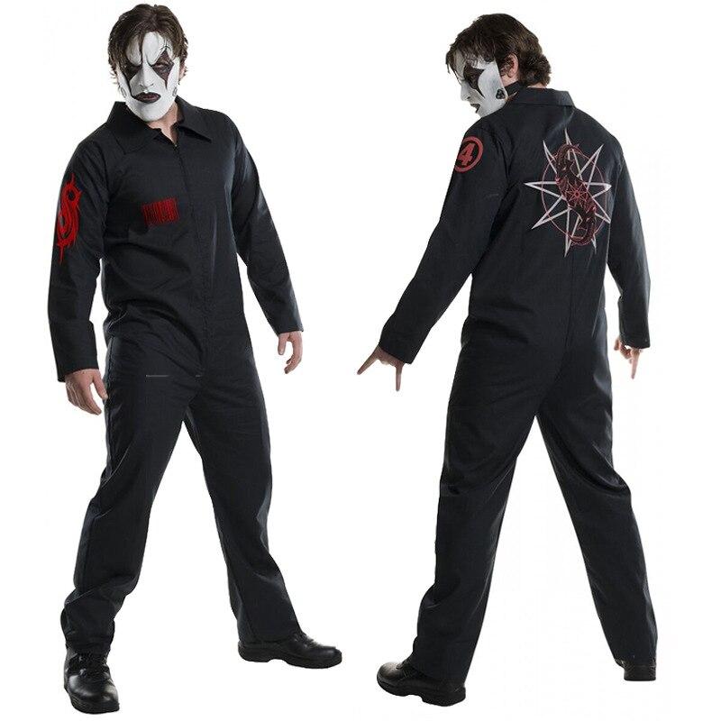 Хэллоуин, потому что в прямом эфире с бантом брендовая одежда Косплэй косплейный костюм одежда с принтом Slipknot игры аниме Косплэй костюмИгровые костюмы    АлиЭкспресс