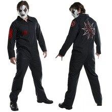 Halloween Cos Live Knoop Band Kleding Cosplay Jumpsuit Cosplay Kostuum SlipKnot Kleding Game Anime Cosplay Kostuum
