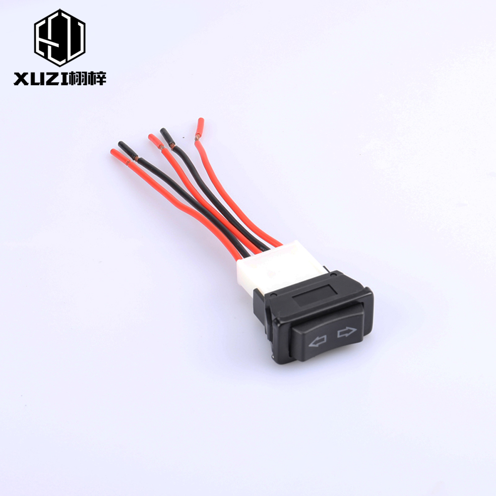 Cars 12V Pin For Window Switch Electric Switch Lifting Switch Control Momentary Car Window Truck Power Switch Vehicle Socket