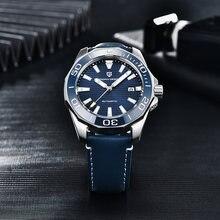 Pagani Дизайн Модные Роскошные мужские часы Топ бренд сапфировое