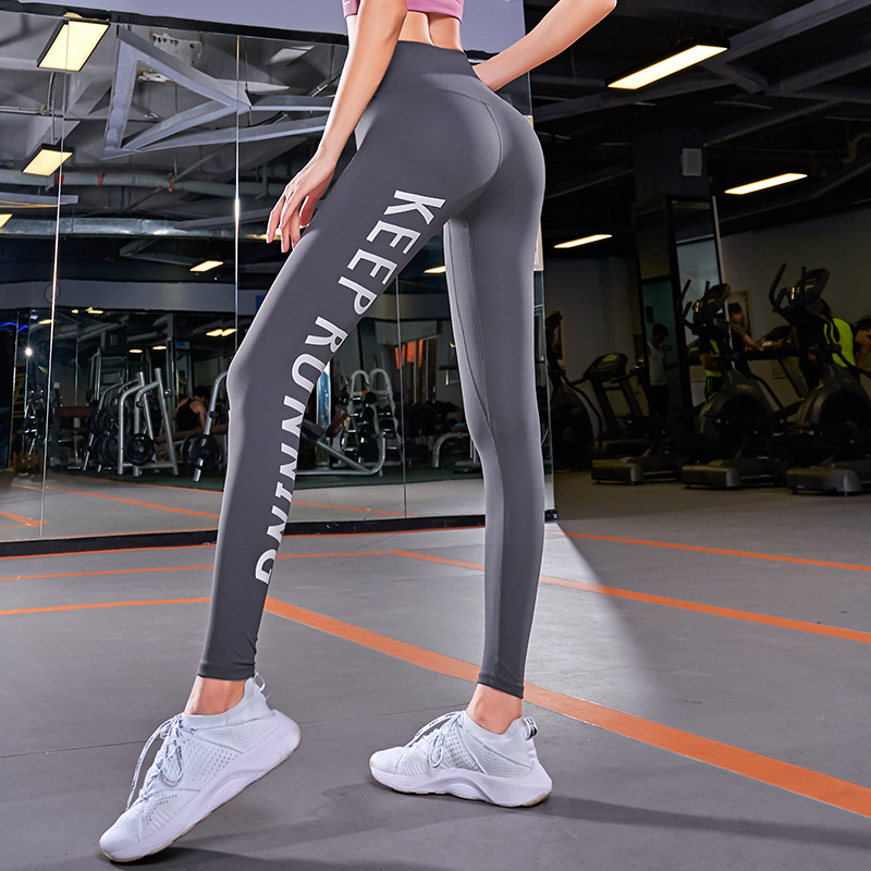 High Waist Yoga Pants Women Compression Pants Push Up Sport Leggings Fitness Tights Running Jogging Gym