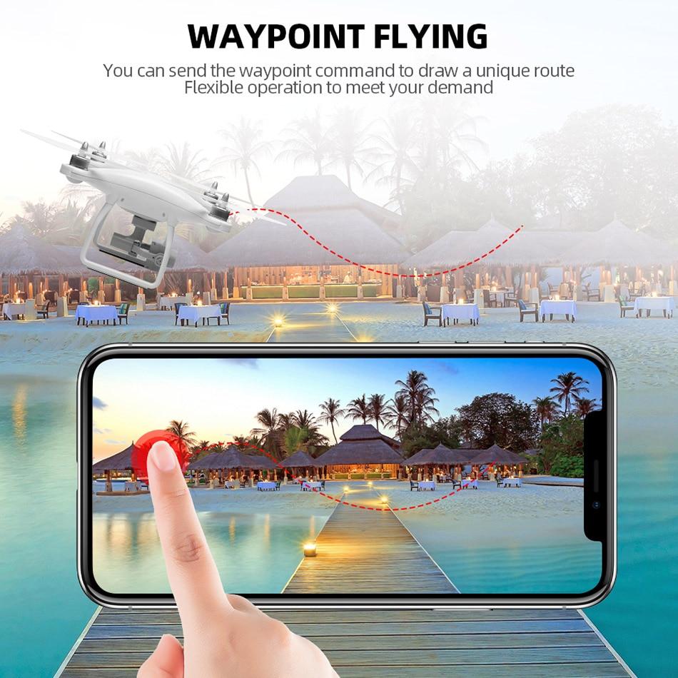 WL XK X1 Drone GPS dos eje cardán estabilizador 5G WiFi HD 1080P Cámara Drones profesional RC quadcopter Dron del F11 pro SG906 X6 - 5