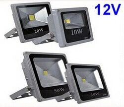 12V 10W 20W 30W 50W reflet firmą na zewnątrz na świeżym powietrzu LED światło halogenowe lampa wodoodporna ogród trawnik oświetlenie kwadratowe Tuinverlichting w Reflektory od Lampy i oświetlenie na