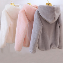 Women's Fur Coat Imitation