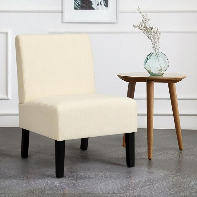 Armless Accent Leisure Chair  4