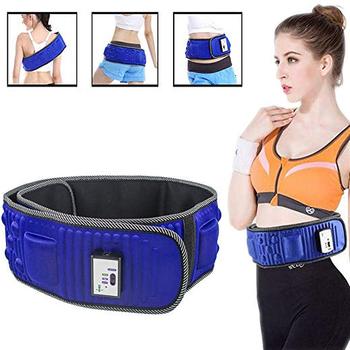Pas wyszczuplający X5 razy wibracje elektryczne urządzenie do masażu Fitness schudnąć spalanie tłuszczu stymulator mięśni brzucha na biodro tanie i dobre opinie LISM Typ pasa OUT43 Odchudzanie bandaż AC100-240V 50Hz (Universal voltage) DC12V 1000mA 7 2W 2 Files 130*12cm waist hips thighs chest shoulders