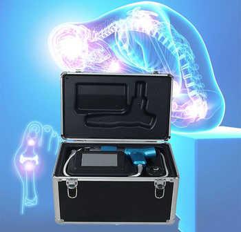 Uso en casa cuello terapia física, terapia de ondas de choque equipos para el dolor de hombro tratamiento