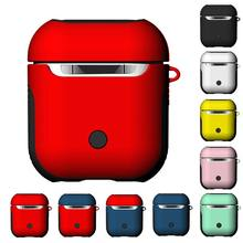 For Airpods 1 2 Protective Cover Charging Case Wireless Bluetooth Earphones Holder Hard Box Protection Shockproof 2 in 1 Bag(China)