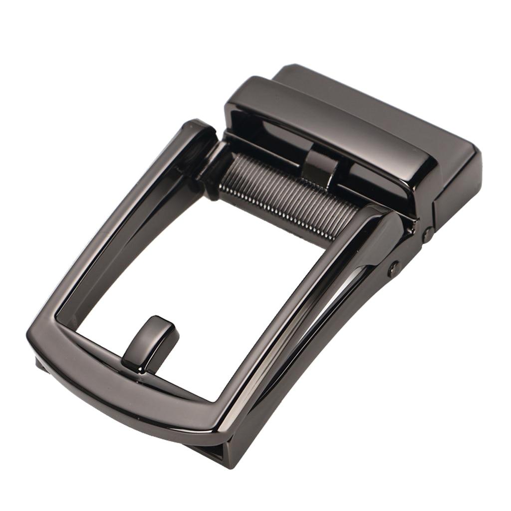 Durable Metal Alloy Ratchet Belt Buckle, Automatic Slide Buckle Replacement For Belt Strap 3.5cm