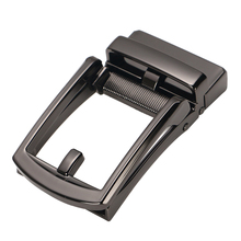 Durable Metal Alloy Ratchet Belt Buckle, Automatic Slide Buckle Replacement for Strap 3.5cm