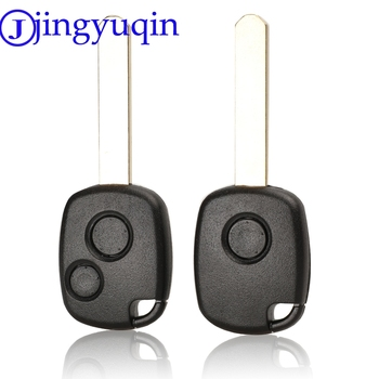 Mando a distancia jingyuqin 1 botones carcasa para llave ciego de coche para Honda Odyssey hoja sin cortar
