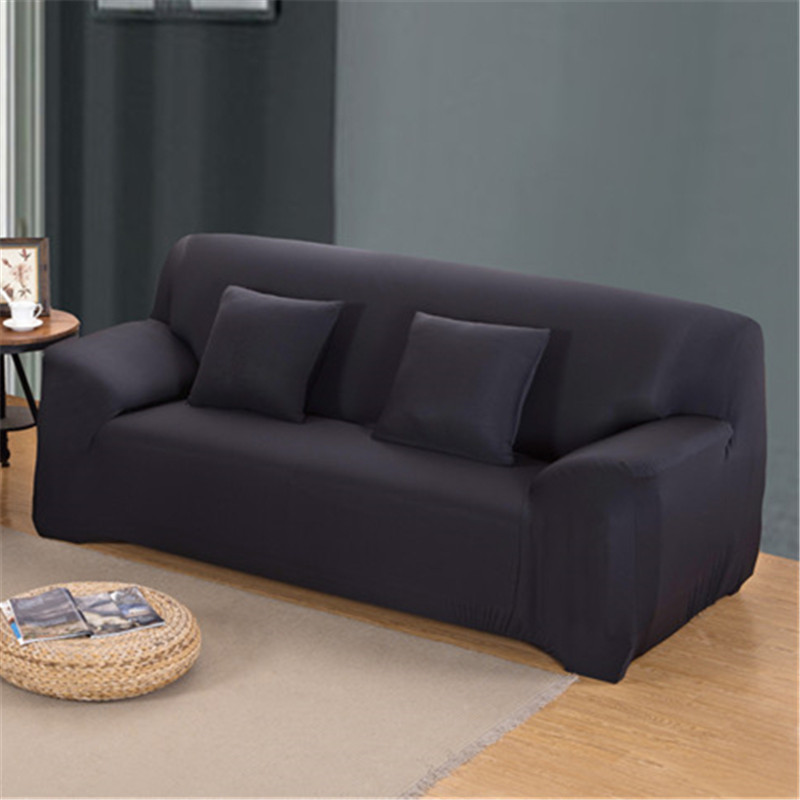 Stretchable Sofa Cover with Elastic for Sectional Couch Protects Sofa from Stains Damage and Dust 20