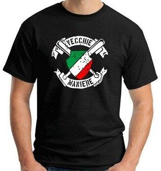 Camiseta de fútbol Ultras Old Ways T0803 Camiseta de algodón para hombre Camiseta de niño elegante personalizada