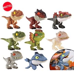 Image 2 - Jurassic World Mini Joint Dinosaur Action Anime Figure Toys Figuras De Coleccion De Accion Hot Toys for Children Boys Girls Gift