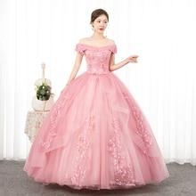 Ball-Gown Quinceanera-Dress Floral-Print Gryffon Off-The-Shoulder Sweet Plus-Size Vestidos