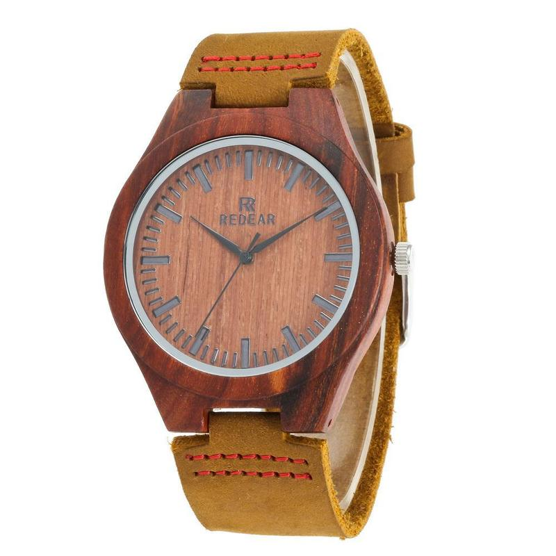 2019 Promotion Limited Brand Popular Patent Rosewood Watches Really Belt Fashion Design High Quality Wooden