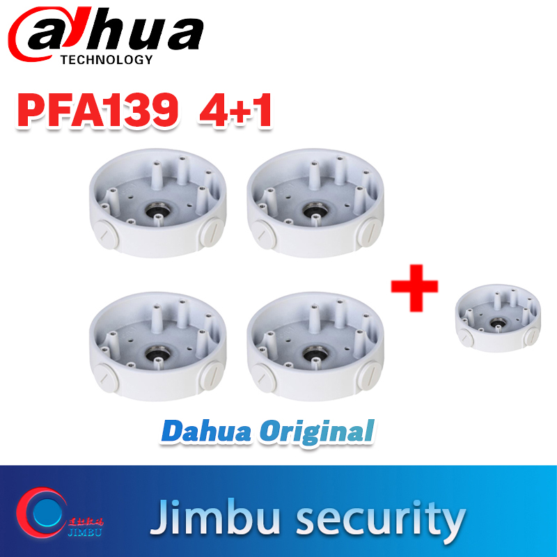 Dahua Original  Camera Support Water-proof Junction Box DH-PFA139 5PCS Compatible Body Type IP Camera DH-IPC-HDW4631C-A