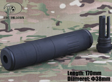 2019 Big Dragon AAC M4 2000 Silencer Deluxe CNC and anodize process
