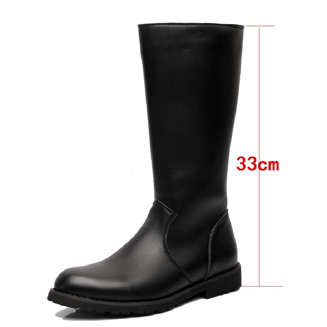 Classy Genuine Leather Boots 5
