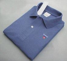 Nova camisa polo de manga curta verão bonito camisa maré marca de moda masculina camisa polo roupas superiores masculinas