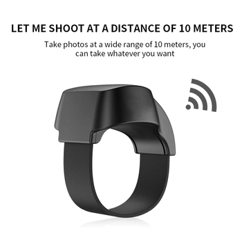 Adjustable Multifunctional Wearable Devices Smart Finger Ring Phone Bluetooth Ring Remote Control Bluetooth 5.1 1