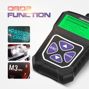 Image 5 - OBDPROG MT100 OBD2 Scanner professionale Auto OBD 2 Scanner motore analizzatore lettore di codice multilingue strumenti diagnostici per Auto