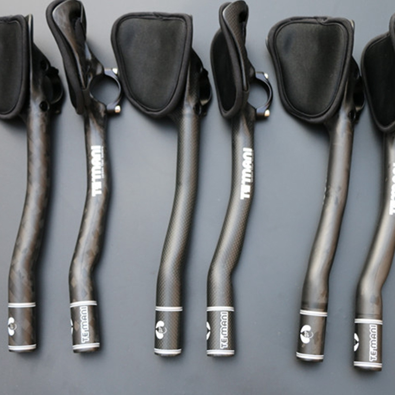 TT arm Rest Handlebar 31.8mm Carbon Fiber Aero bar Road MTB Bicycle aerobar