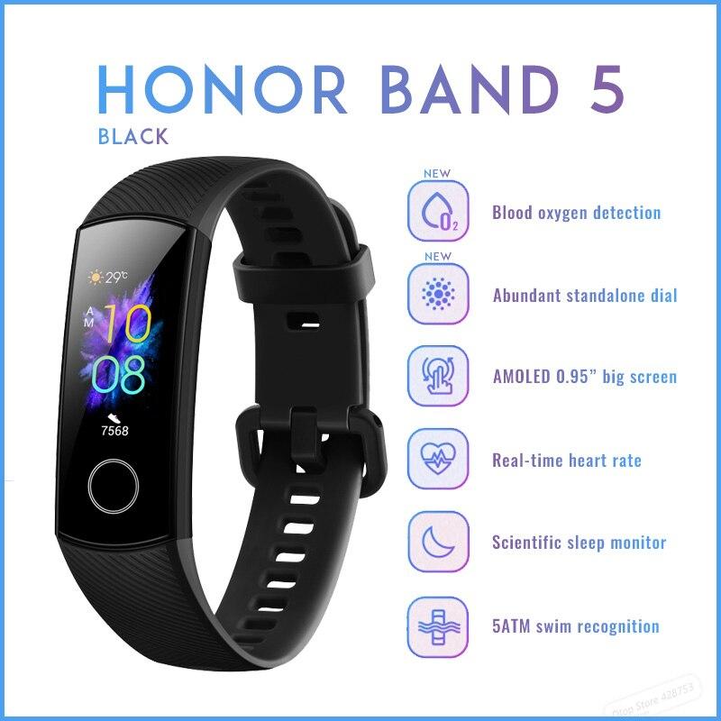 Honor Band 5 Black