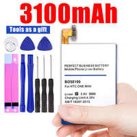 3100mAh Battery for HTC One Mini M4 M 4 601S 601E 601N 603E