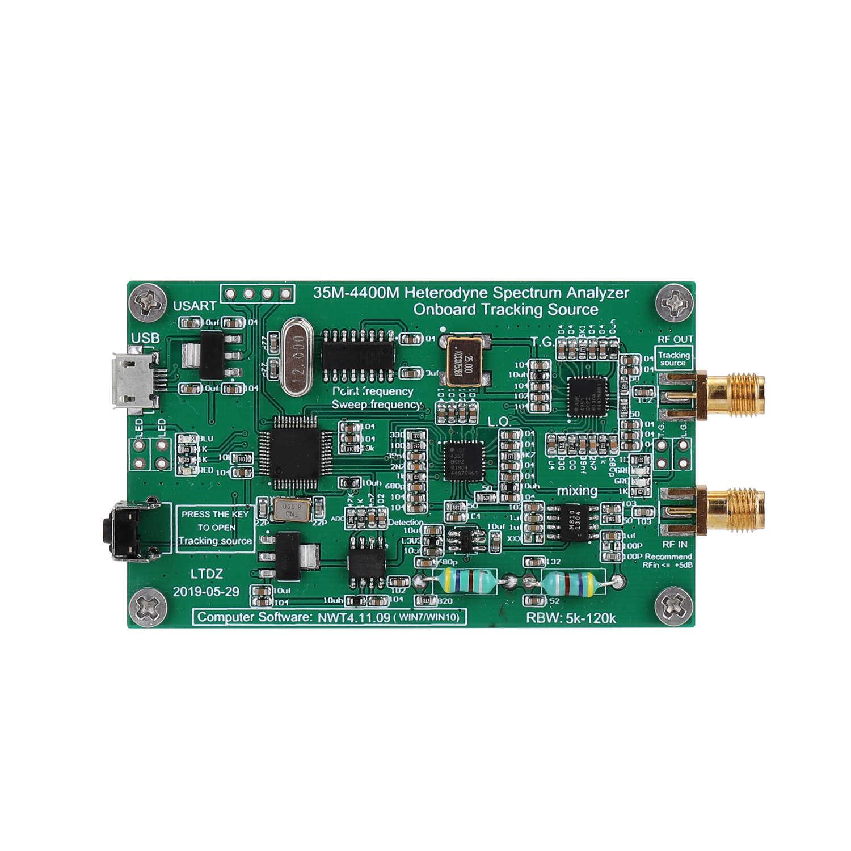 محلل الطيف USB LTDZ 35-4400 متر مصدر إشارة الطيف مع وحدة مصدر التتبع RF تردد أداة تحليل المجال