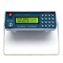 0.5 mhz 470 mhz rf sinal gerador medidor tester para rádio fm walkie talkie debug digital ctcss singal saída