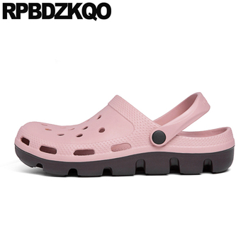 waterproof native mens sandals 2019 summer outdoor large size fashion 45 plus casual shoes slip on flat water slides slippers