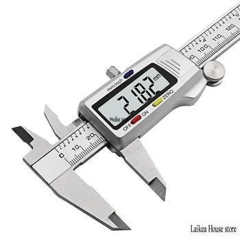 Digital Caliper Stainless Steel Electronic Digital Vernier Caliper 6 150mm Metal Micrometer Measuring Tool Hand Tools Houshold