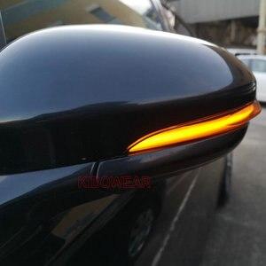 Image 5 - 포드 피에스타 MK8 용 다이나믹 블링커 2019 2020 2021 LED 턴 시그널 라이트 사이드 램프 화살표