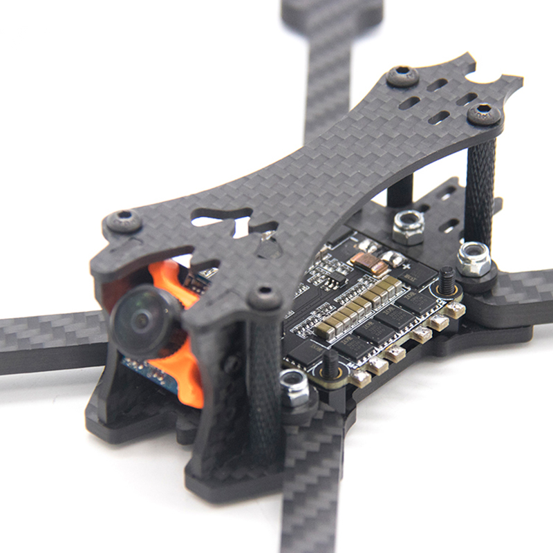 Image 3 - TCMMRC 5 inch Drone Frame Black Bat 220 fpv frame 5mm Arm Carbon Fiber for FPV Racing Drone Frame Kit-in Parts & Accessories from Toys & Hobbies