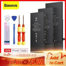 Baseus Batteria Per iPhone 6 s 6 s 5 5s 5 5c 7 8 Più Originale Ad Alta Capacità Bateria di Ricambio batterie Per iPhone X Xs Max Xr 7P
