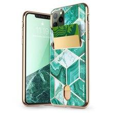 I Blason iPhone 11 Pro Max kılıf 6.5 inç (2019 sürümü) cosmo cüzdan ince tasarımcı kart yuvası cüzdan kılıf arka kapak