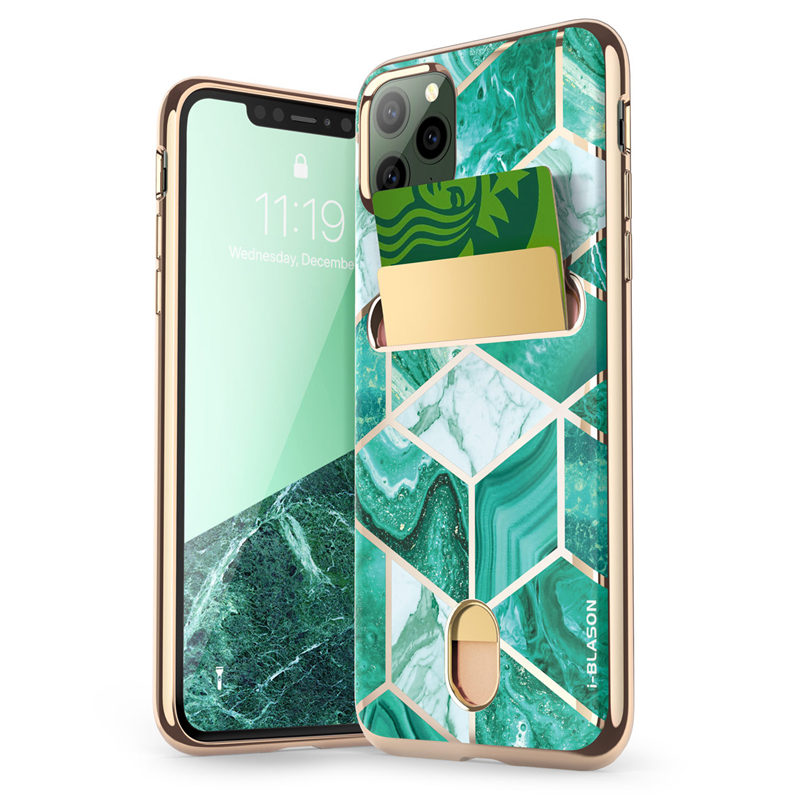 i Blason For iPhone 11 Pro Max Case 6.5 inch (2019 Release) Cosmo Wallet Slim Designer Card Slot Wallet Case Back Cover|Fitted Cases| |  - title=
