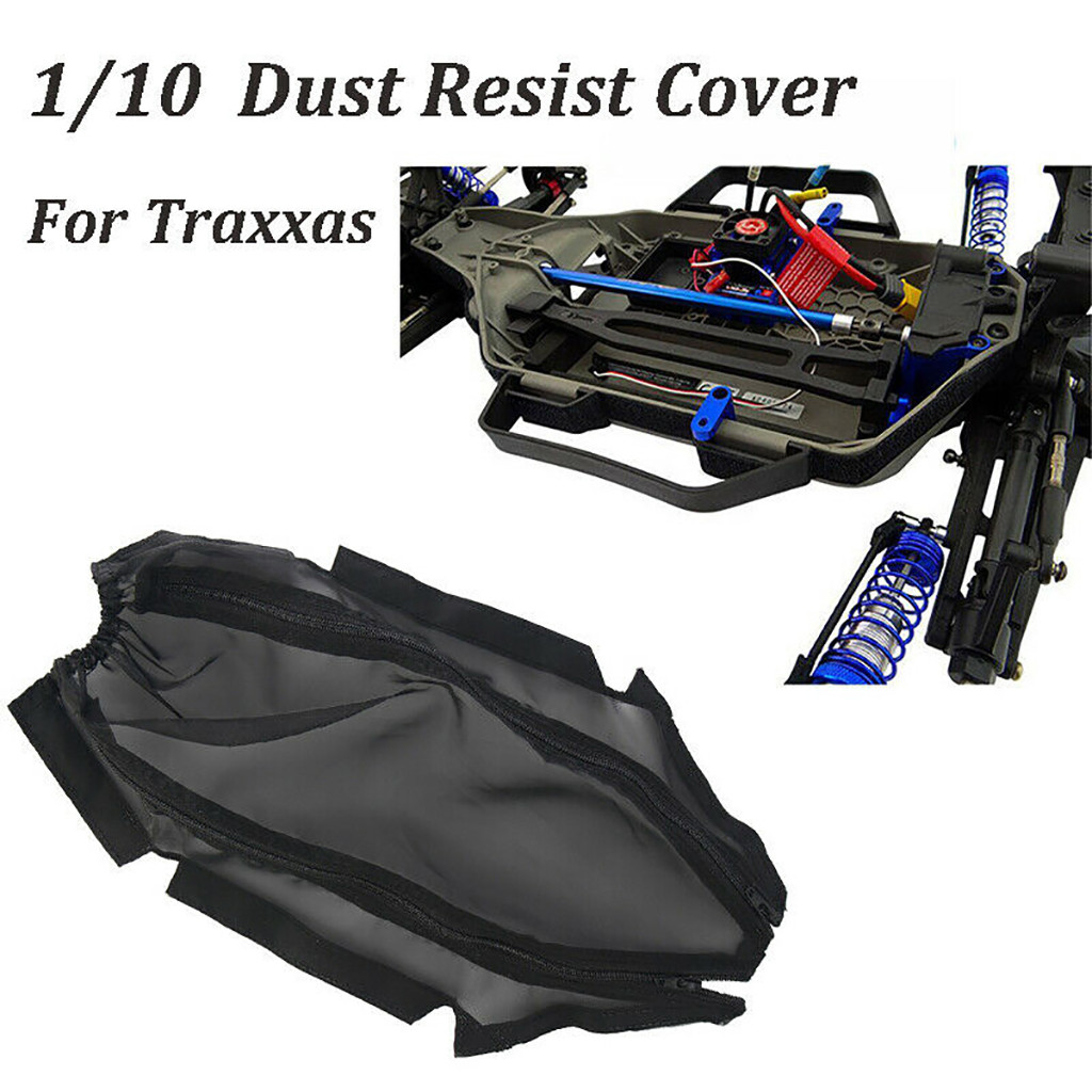 HIINST Chassis Dust Cover Resist Dirt Guard for 1/10 For Traxxas Slash 4x4 LCG Rally children's toys High Quality RC Car Parts