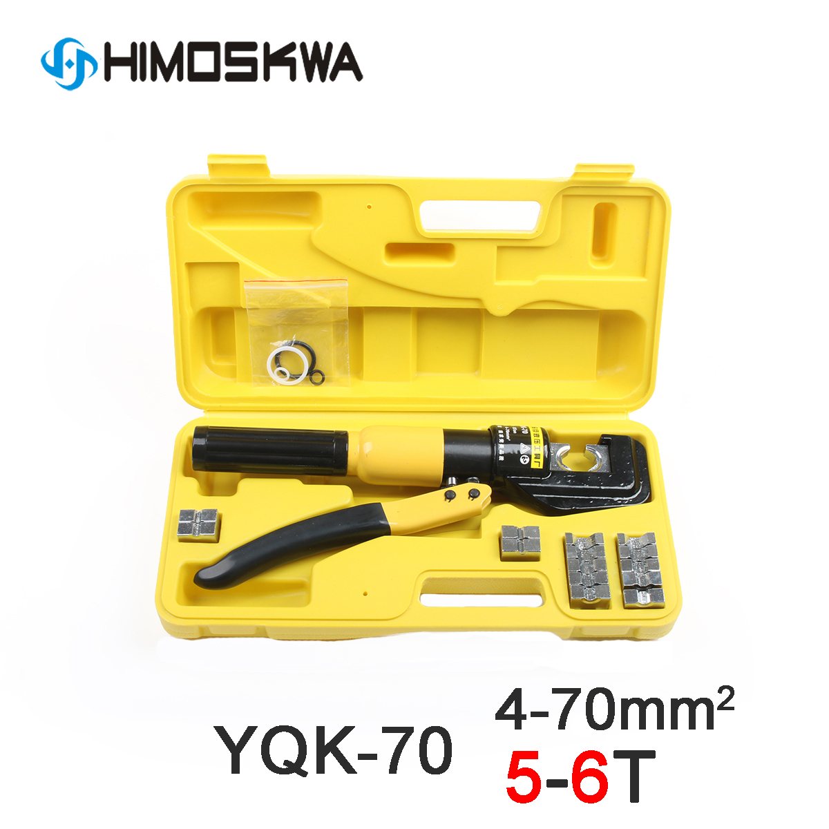 5-6T Cable lug Hydraulic Crimping Tool Hydraulic Crimping Plier Hydraulic Compression Tool YQK-70 Range 4-70MM2 Pressure