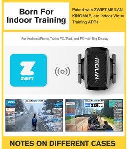 Image 4 - Bike  Cadence speedometer Bluetooth cycling sensor 4.0 ANT+ Internal rotation track Meilan C1  For GARMIN BRYTON igpsport  XOSS