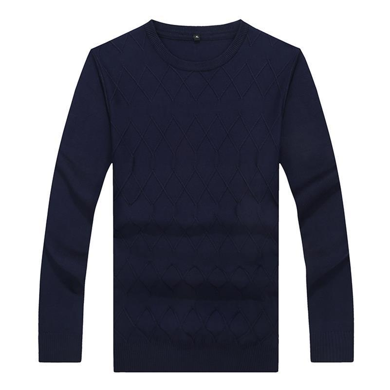 8XL 6XL 5XL 4XL New Autumn Fashion Brand Casual Sweater O-Neck Slim Fit Knitting Mens Sweaters And Pullovers Men Pullover Men