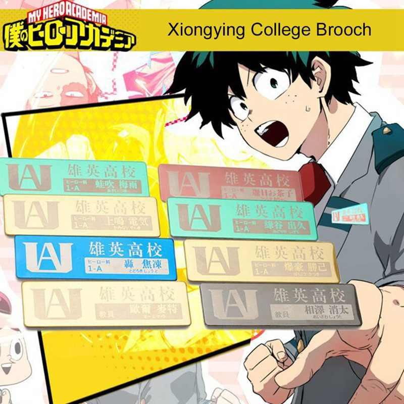 Anime Mijn Hero Academia Cosplay Badge Cartoon Boku Geen Hero Academia Broche Pins Izuku Collectie Tassen Badges Voor Rugzakken
